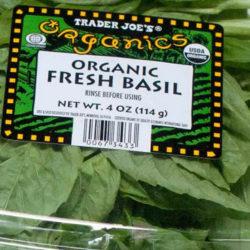 Trader Joe's Organic Fresh Basil
