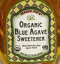 Trader Joe's Organic Blue Agave Sweetener