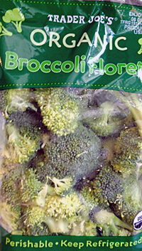 Trader Joe's Organic Broccoli Florets