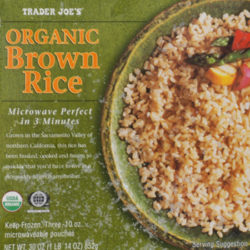 Trader Joe's Organic Brown Rice