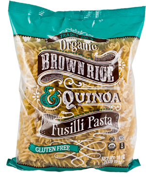 Trader Joe's Organic Brown Rice & Quinoa Fusilli Past