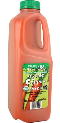 Trader Joe's Organic Carrot Juice