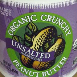 Trader Joe's Organic Crunchy Unsalted Peanut Butter