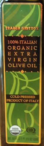 Trader Joe's Organic Extra Virgin Olive Oil