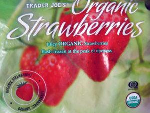 Trader Joe's Organic Frozen Strawberries