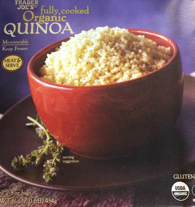 Trader Joe's Organic Fully Cooked Quinoa