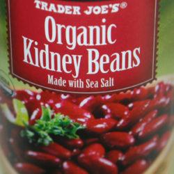 Trader Joe's Organic Kidney Beans