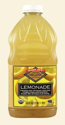 Trader Joe's Organic Lemonade