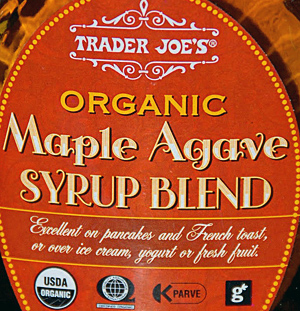 Trader Joe's Maple Agave Syrup Blend