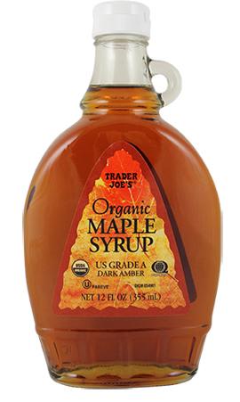 Grade A Organic Maple Syrup