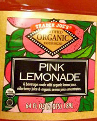 Trader Joe's Organic Pink Lemonade
