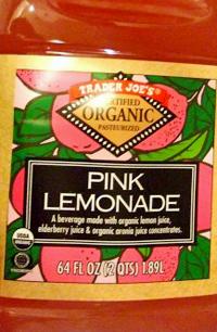 Trader Joe's Organic Pink Lemonade