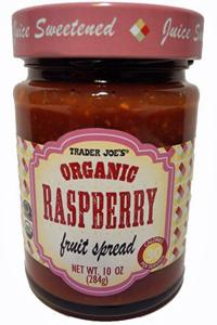 Trader Joe's Organic Raspberry Fruit Spread