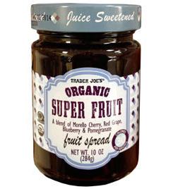 Trader Joe's Organic Super Fruit Spread