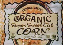 Trader Joe's Organic Super Sweet Corn