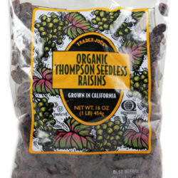 Trader Joe's Organic Thompson Seedless Raisins