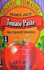 Trader Joe's Organic Tomato Paste