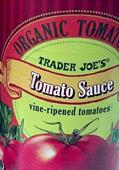 Trader Joe's Organic Tomato Sauce