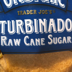 Trader Joe's Organic Turbinado Raw Cane Sugar