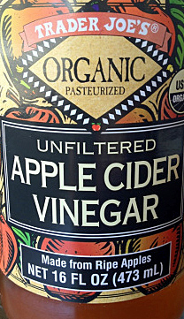 Trader Joe's Organic Unfiltered Apple Cider Vinegar