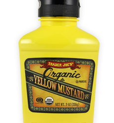 Trader Joe's Organic Yellow Mustard
