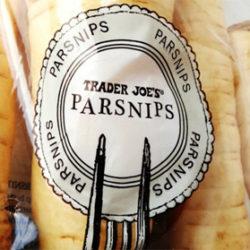 Trader Joe's Parsnips