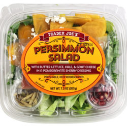 Trader Joe's Persimmon Salad