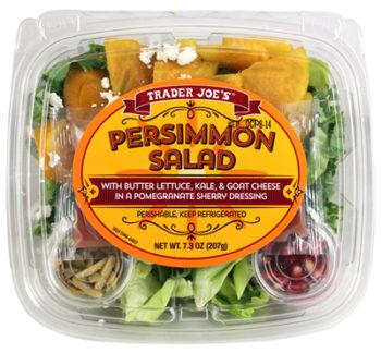 Trader Joe's Persimmon Salad