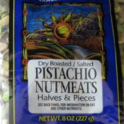 Trader Joe's Dry Roasted & Salted Pistachio Nutmeats Halves & Pieces