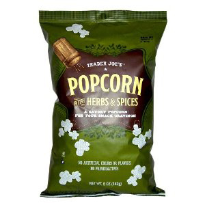 Trader Joe's Popcorn with Herbs & Spices