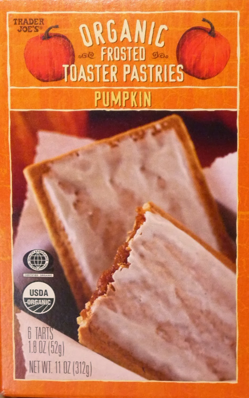 Trader Joe's Pumpkin Toaster Pastries