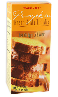 Trader Joe's Pumpkin Bread & Muffin Mix