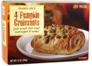 Trader Joe's Pumpkin Croissants