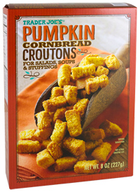Trader Joe's Pumpkin Croutons