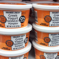 Trader Joe's Nonfat Pumpkin Greek Yogurt