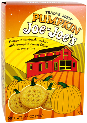 Trader Joe's Pumpkin Joe-Joe's