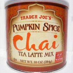 Trader Joe's Pumpkin Spice Chai