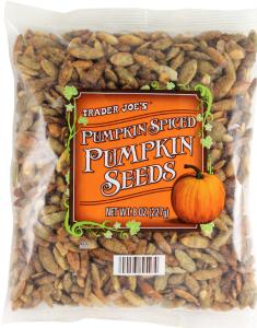 Trader Joe's Pumpkin Spiced Pumpkin Seeds
