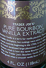Trader Joe's Pure Bourbon Vanilla Extract