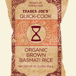 Trader Joe's Quick Cook Organic Brown Basmati Rice