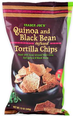Trader Joe's Quinoa & Black Bean Infused Tortilla Chips