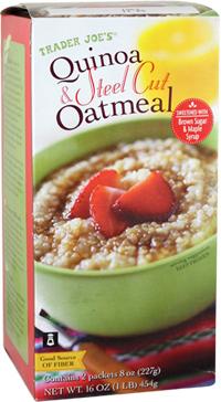 Trader Joe's Quinoa & Steel Cut Oatmeal