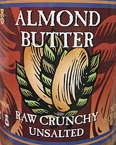 Trader Joe's Raw Crunchy Unsalted Almond Butter