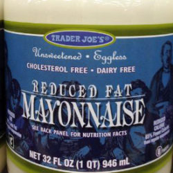 Trader Joe's Reduced Fat Mayonnaise