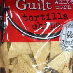 Trader Joe's Organic Reduced Guilt White Corn Tortilla Chips