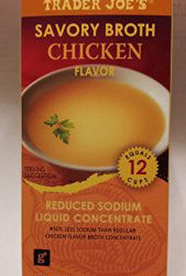 Trader Joe's Reduced Sodium Chicken Broth Concentrate