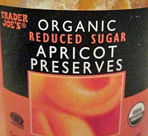 Trader Joe's Organic Reduced Sugar Apricot Preserves