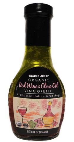 Trader Joe's Red Wine & Olive Oil Vinaigrette