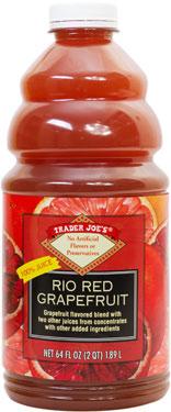 Trader Joe's Rio Red Grapefruit Blend