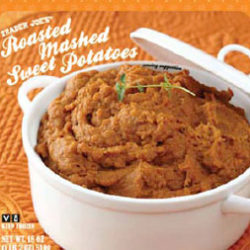 Trader Joe's Roasted Mashed Sweet Potatoes